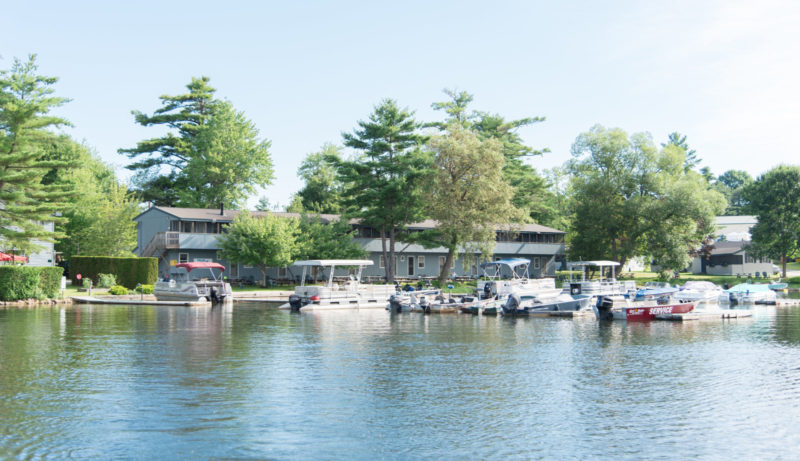 Private Marina Boat Slips - Lakeside Lodge & Marina
